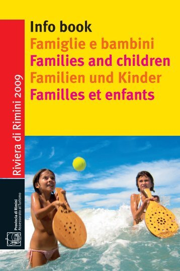 Info book Famiglie e bambini Families and children Familien und ...