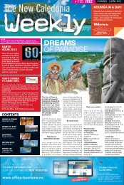New Caledonia Weekly - Published 23-03-12 - hot deals