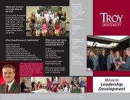 Brochure 1 - Troy University