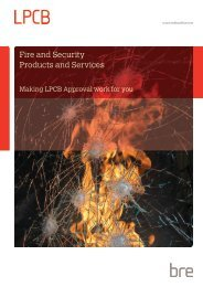 Fire and Security Products and Services - RedBookLive
