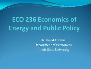 Economics of Regulation and Antitrust - Department of Economics