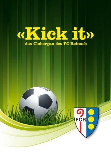 das Cluborgan des FC Reinach