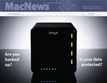 Are you backed up? Is your data protected? - MacGroup-Detroit
