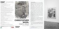 Christopher Wool ist nicht nur ein abstrakter Maler - Museen in Köln