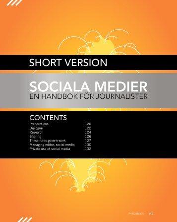 Social Media: a Handbook for Journalists (short version) - asi