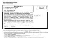 Gemeinsame Wahlbenachrichtigung - Wahlen in Thüringen