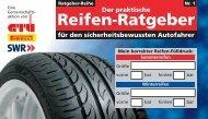 Der praktische Reifen-Ratgeber