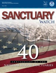 Sanctuary Watch Fall 2012 - National Marine Sanctuaries - NOAA