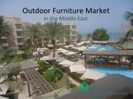 Outdoor Furniture Market - MTIB