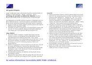 Informationen zu den Umleitungen und Einschränkungen - Lvb