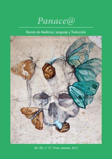 Panace@ - Revista de Medicina y Traducción - Tremédica