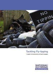 Tackling Fly-tipping - Keep Britain Tidy