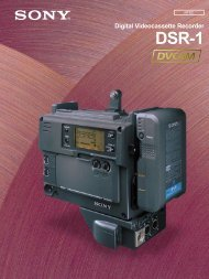 Digital Videocassette Recorder