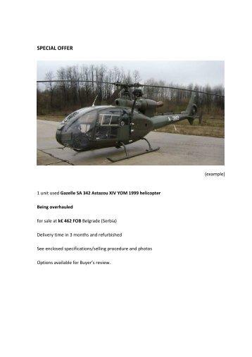 HELICOPTER GAZELLE SA 342 ASTAZOU XIV ms - Oaktree-ilst.com