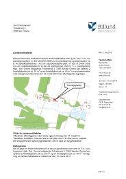 Landzonetilladelse og dispensation fra ... - Billund Kommune