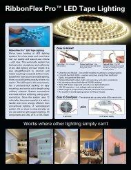 RibbonFlex Pro™ LED Tape Lighting - Lee Valley Tools
