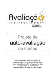 auto-avaliação - Universidade Católica de Pelotas