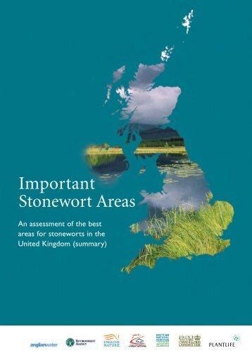 Important Stonewort Areas - Plantlife