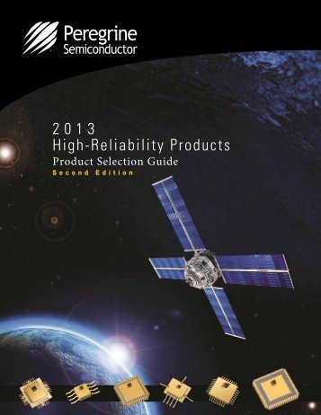 2013 High-Reliability Products - Peregrine Semiconductor