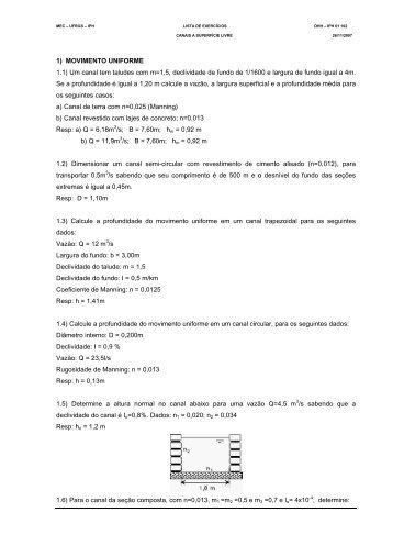 Lista canais - Chasqueweb.ufrgs.br - Ufrgs