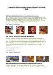 Réservation hôtelière - Archilink