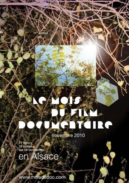 en Alsace - Le Mois du Film Documentaire