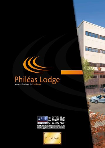69 Lyon - Phileas Lodge - Azur InterPromotion