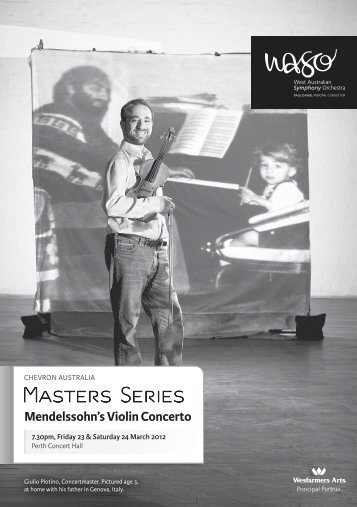Masters Series - West Australian Symphony Orchestra