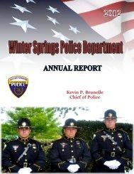 2012 - City of Winter Springs