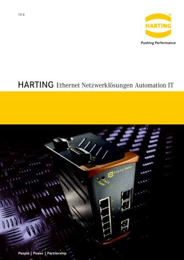 Ethernet - HARTING Technologiegruppe