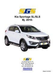 Kia Sportage SL/SLS Bj. 2010 - SGS
