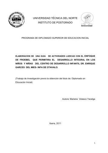 PG 261 PROYECTO DE INVESTIGACIÓN ... - Repositorio UTN