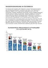 WASSERVERSORGUNG IN ÖSTERREICH - Gitschtaler.at