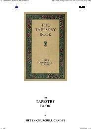 The Tapestry Book, by Helen... - Yesterday Image