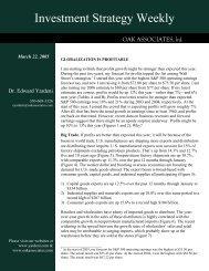 March 22, 2005 - Dr. Ed Yardeni's Economics Network