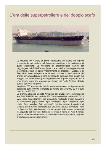 Storia della flotta SNAM, 3 - associazione pionieri e veterani eni
