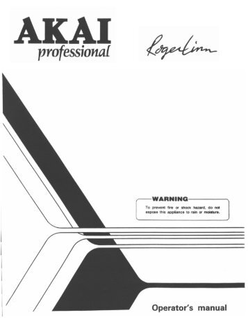 Akai MPC-60 v2.0 Owners Manual.pdf - Fdiskc