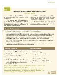 Download HDF Fact Sheet - Housing Development Fund, Inc.