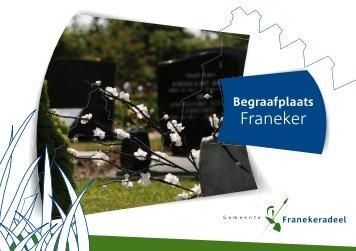 Begrafenisfolder 2013 (pdf) - Gemeente Franekeradeel