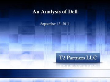 An Analysis of Dell - Tilson Funds
