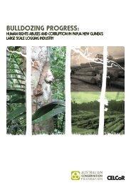 Bulldozing progress - Australian Conservation Foundation