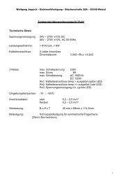 TS-01 Daten Deutsch