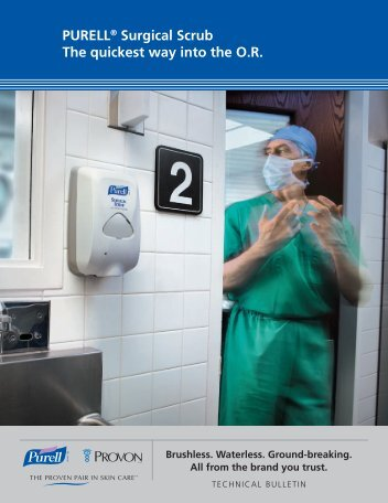 PURELL® Surgical Scrub The quickest way into the OR - Southland ...