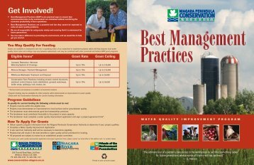 Best Management Practices Brochure - Niagara Peninsula ...