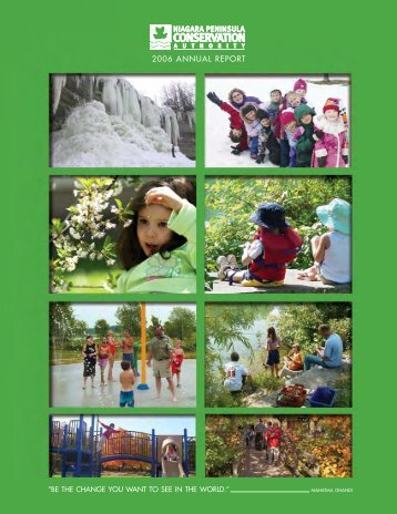2006 AnnuAl REPORT - Niagara Peninsula Conservation Authority