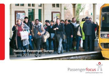 National Passenger Survey Spring 2013 Main Report ... - Virgin Trains