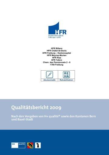 HFR Billens HFR Châtel-St-Denis HFR Freiburg – Kantonsspital ...