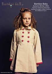 AW11 Retail Catalogue - Bamboo baBy