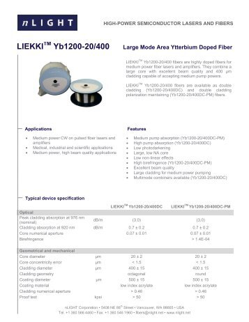Download Data Sheet - Laser Lines Ltd.