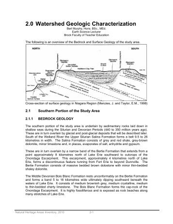 2.0 Watershed Geologic Characterization.pdf - Niagara Peninsula ...
